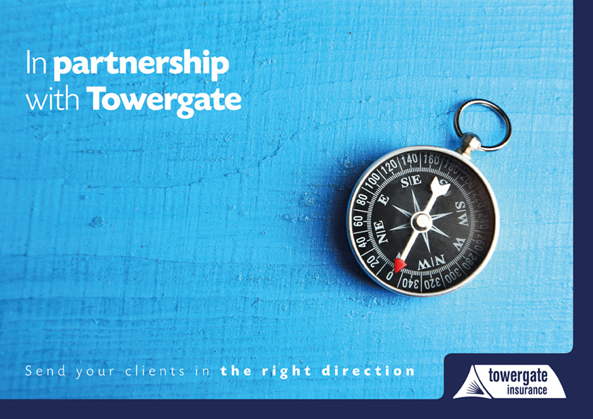 Towergate Insurance brochure cover