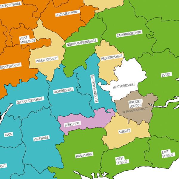 LGC pensions map