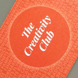 The Creativity Club loves print design
